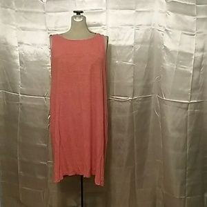 Coral tank dress by Eileen Fisher